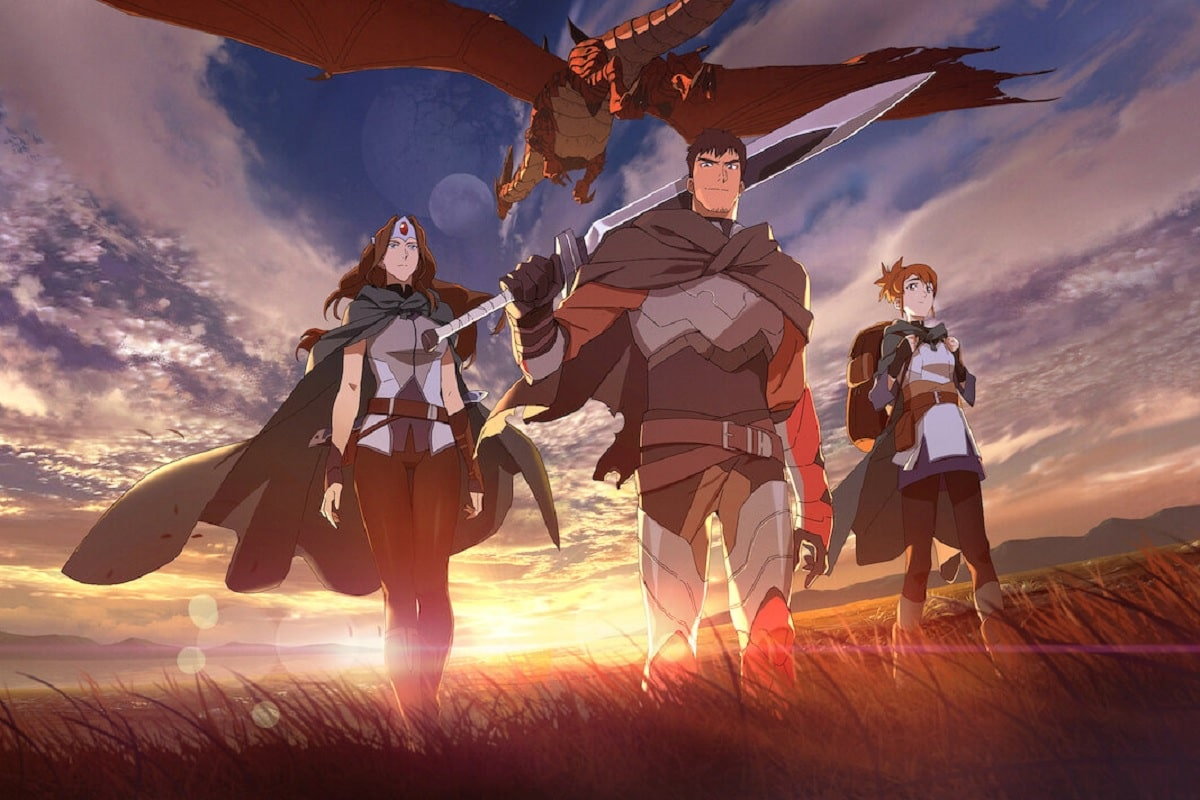 DOTA: Sangre de Dragón: La serie anime para ver en Netflix