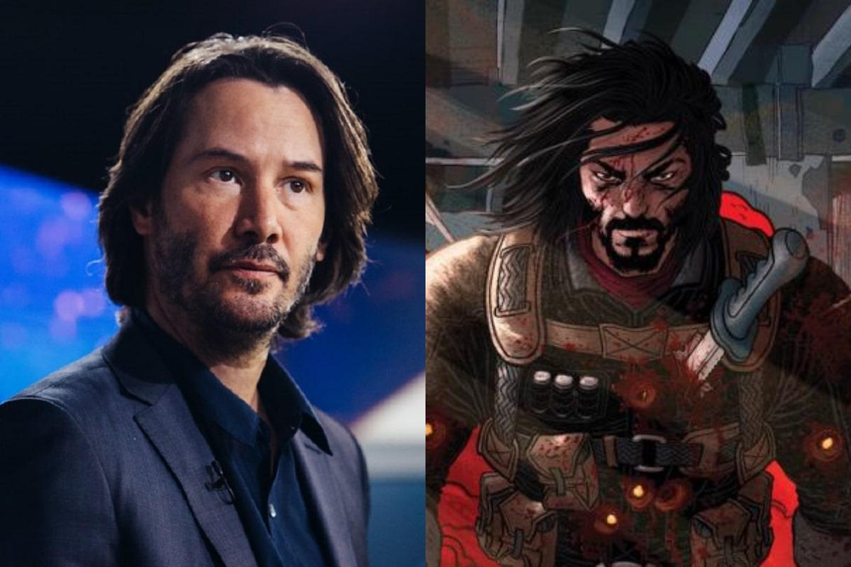 Keanu Reeves protagonizará la película de su propio cómic en Netflix