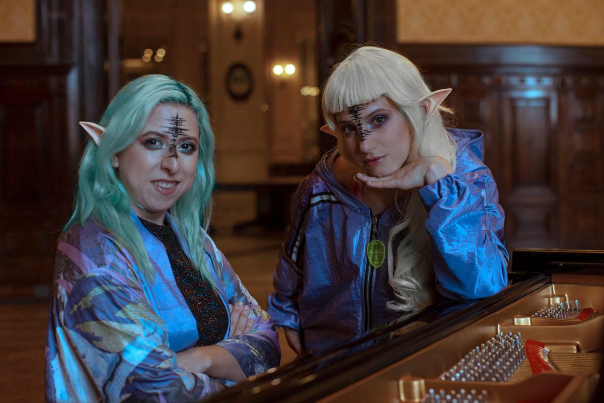 Marina Fages y Noelia Sinkunas interpretan