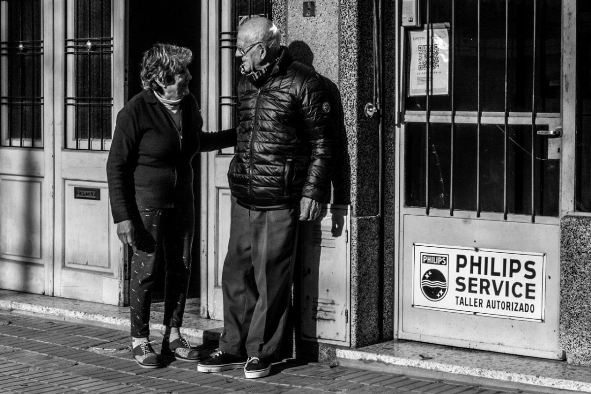 Hilda y Enrique Braschi