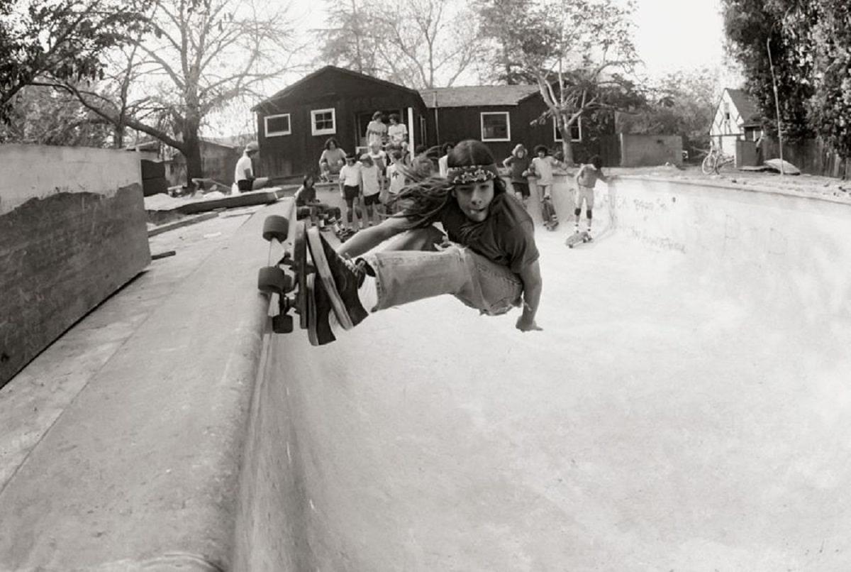 Skaters en 1970