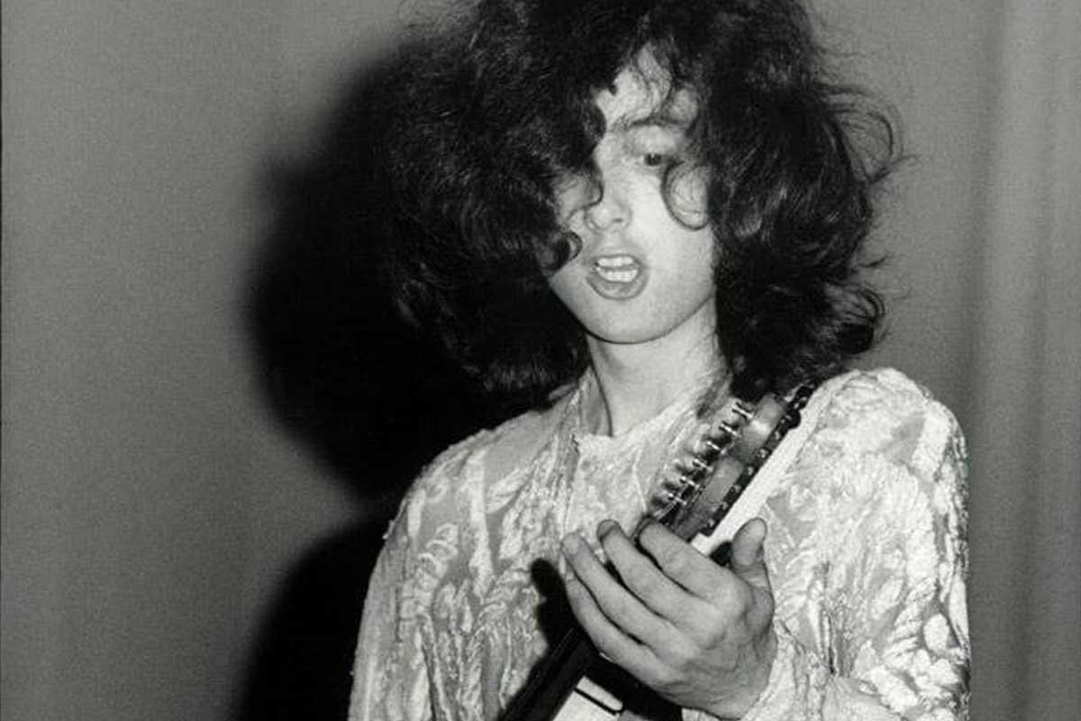 Jimmy Page de Led Zeppelin en 1969