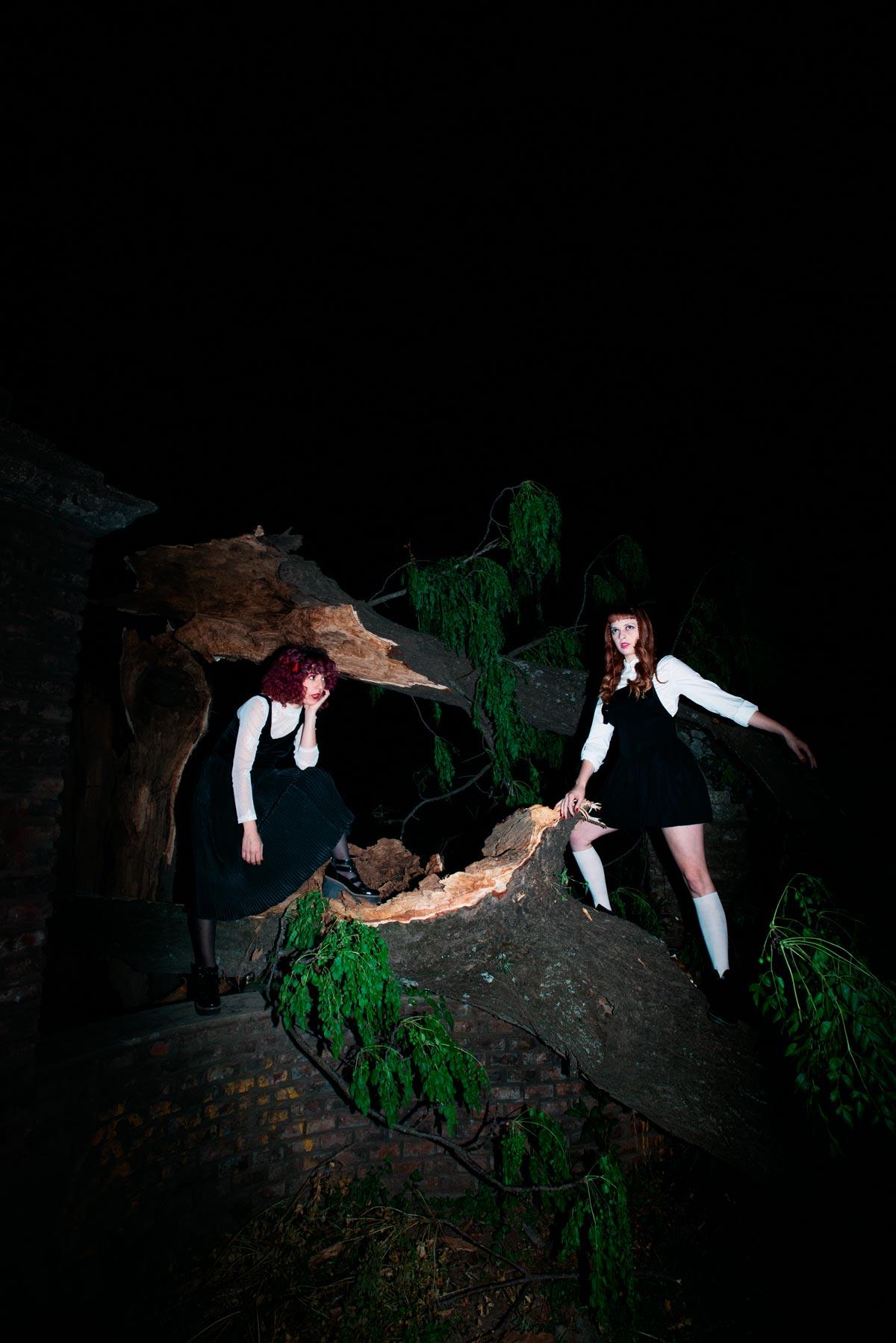 Lalalas se entrega a la experimentación dark en su segundo disco: Misterio nocturno