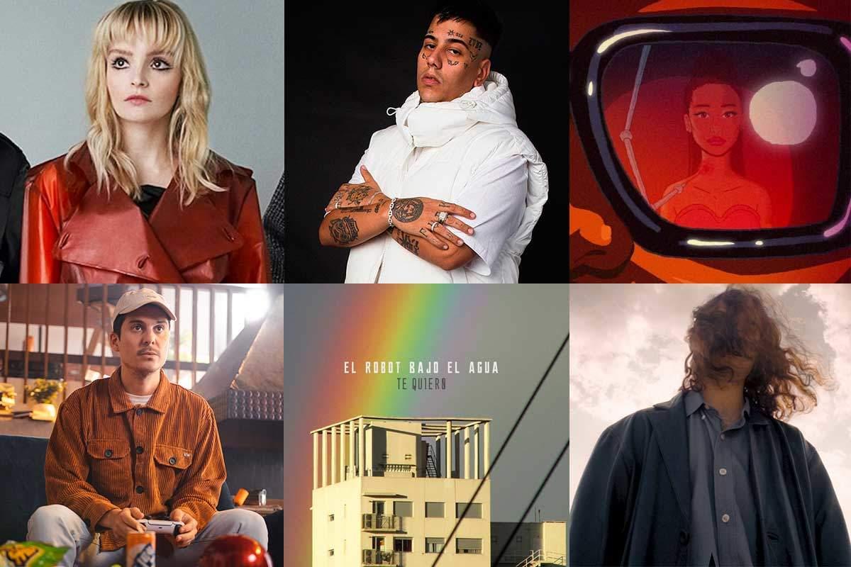 Nueva música: Duki, The Weeknd con Ariana Grande, El Robot Bajo el Agua y más