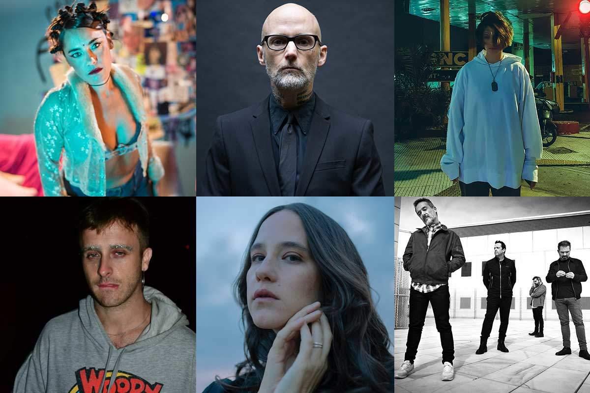 Nueva música para escuchar esta semana: Moby, Marina Fages, Sara Hebe y más