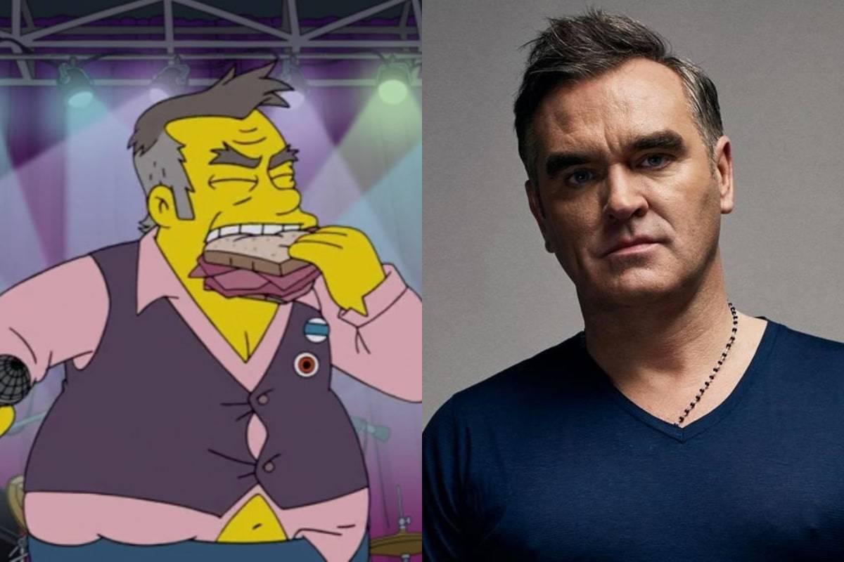 """Morrissey responde duramente al episodio de Los Simpson: """"Sacan provecho de  controversia barata"""""""