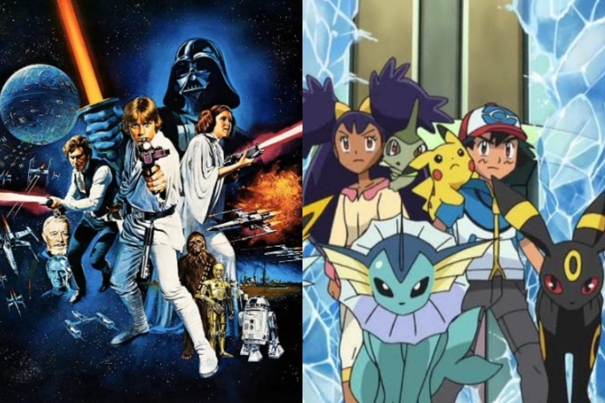 Artista transforma personajes de Star Wars en Pókemon