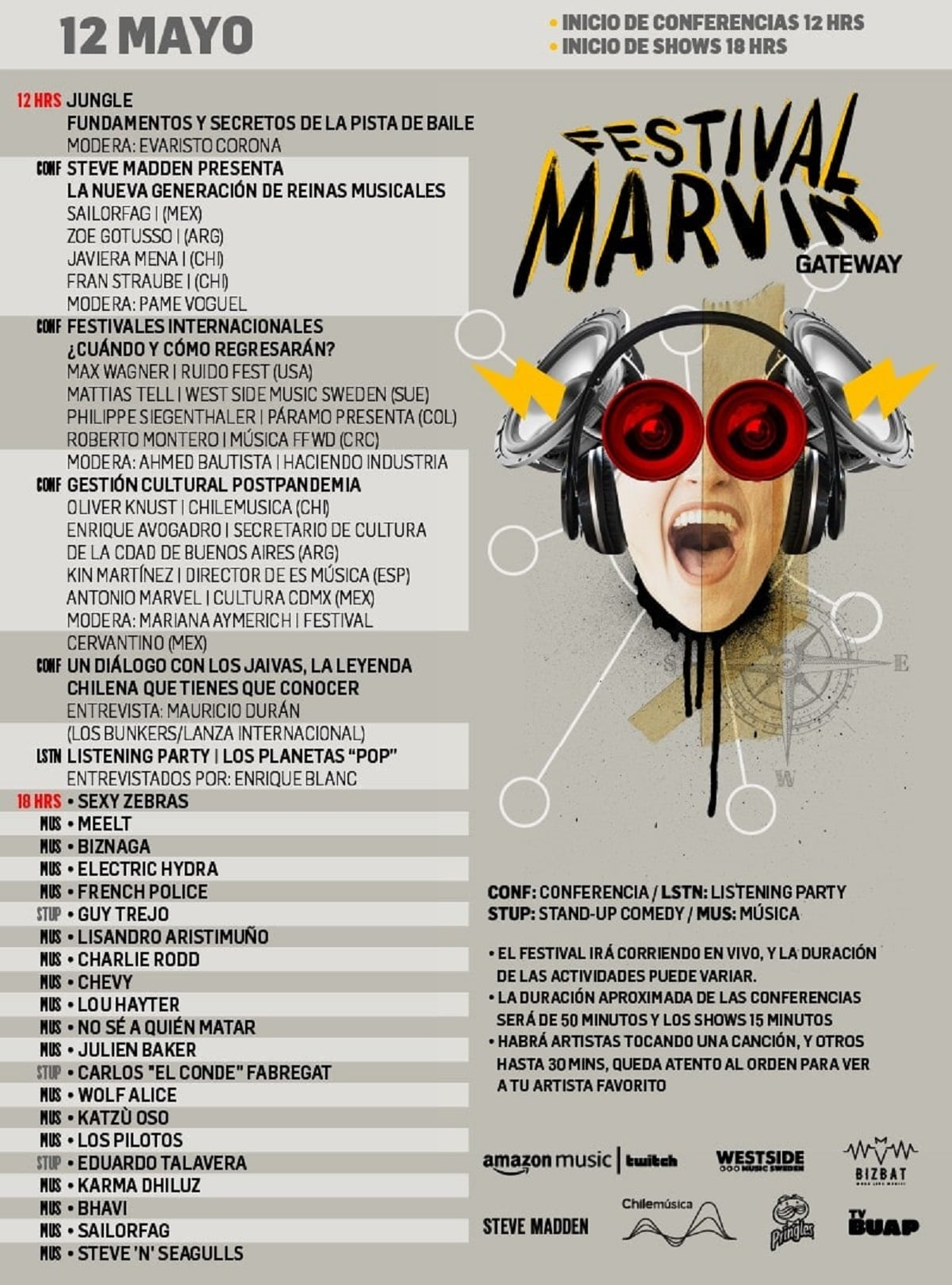 Festival Marvin Getaway