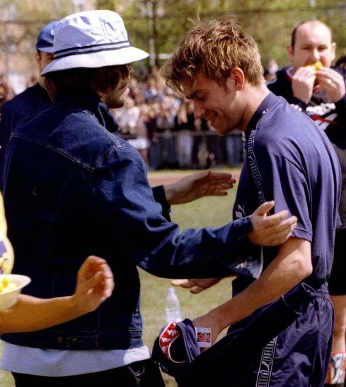 Liam Gallagher y Damon Albarn