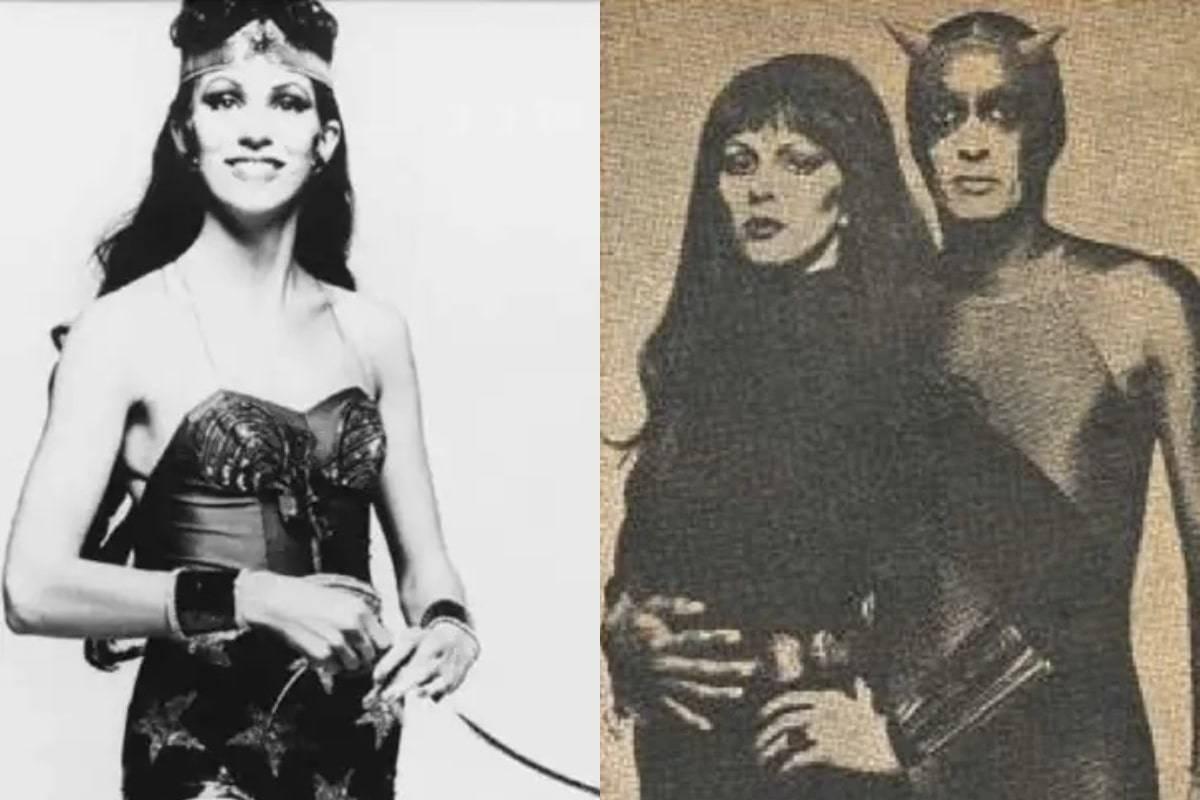 Angie Bowie como Wonder Woman y Black Widow