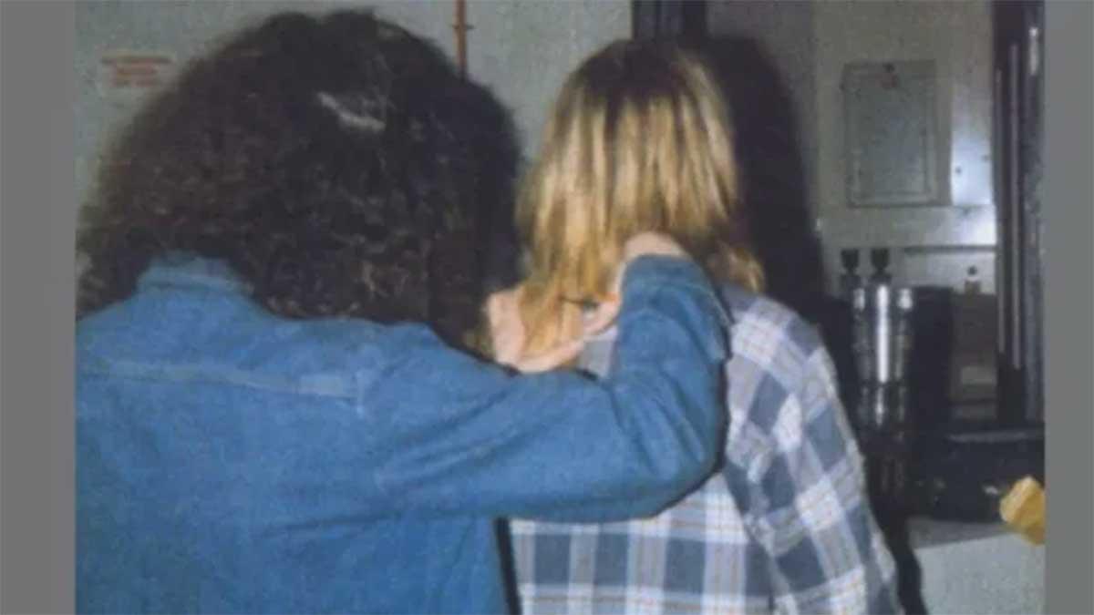Tessa Osbourne y Kurt Cobain