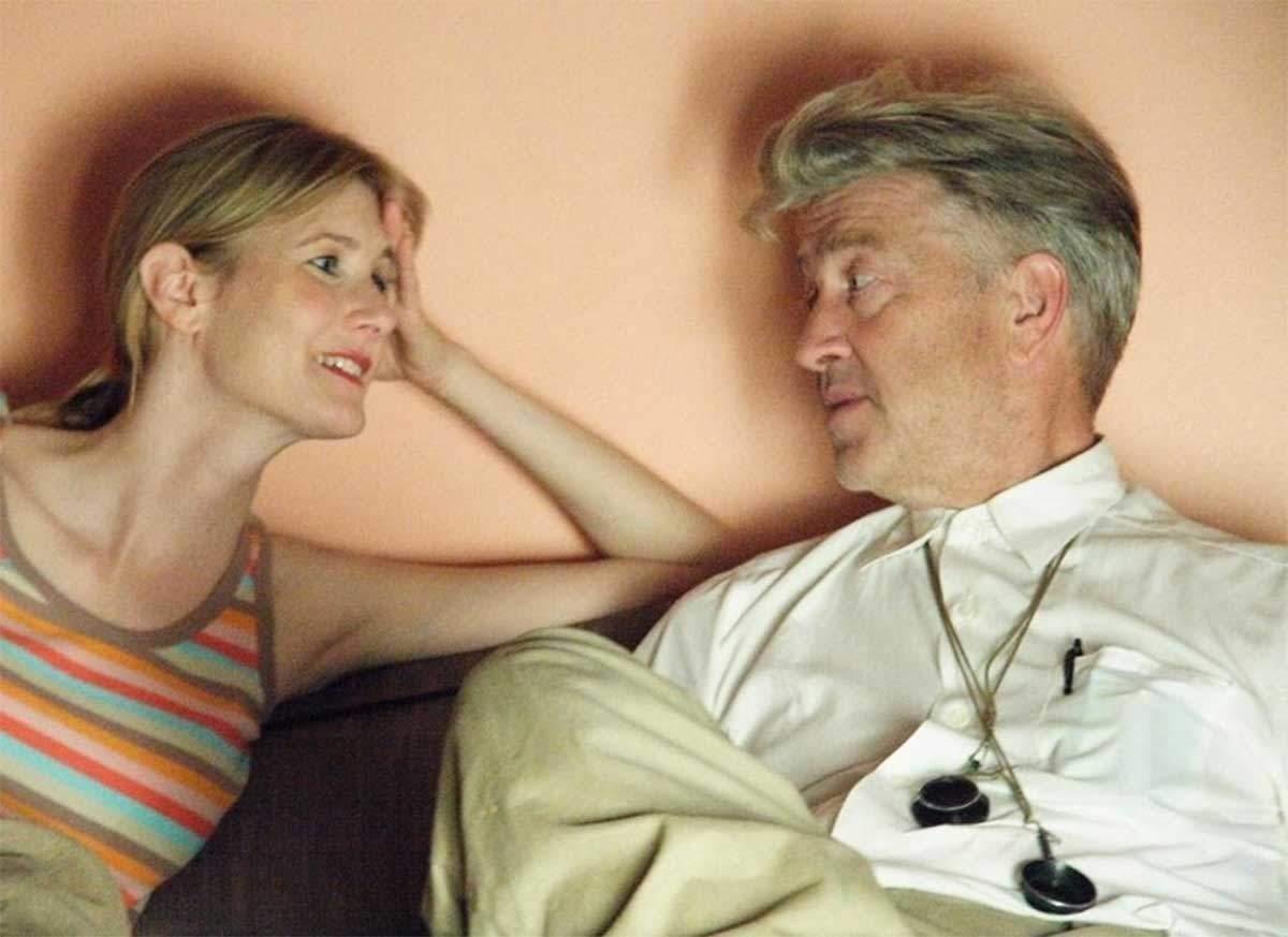 Laura Dern y David Lynch