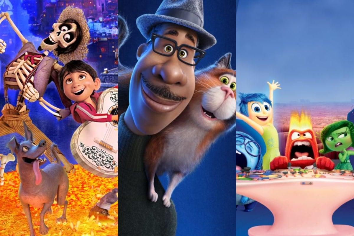 3 películas de Pixar para ver en Disney+