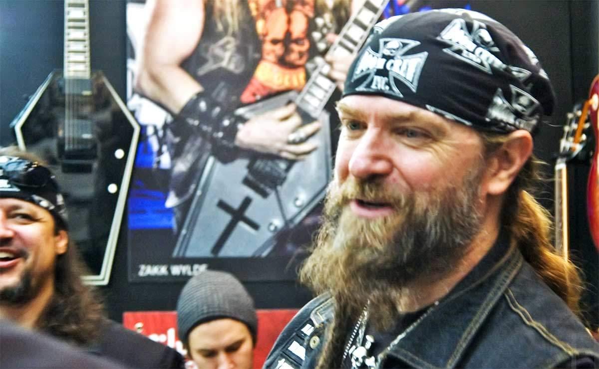 Zakk Wylde en 2012