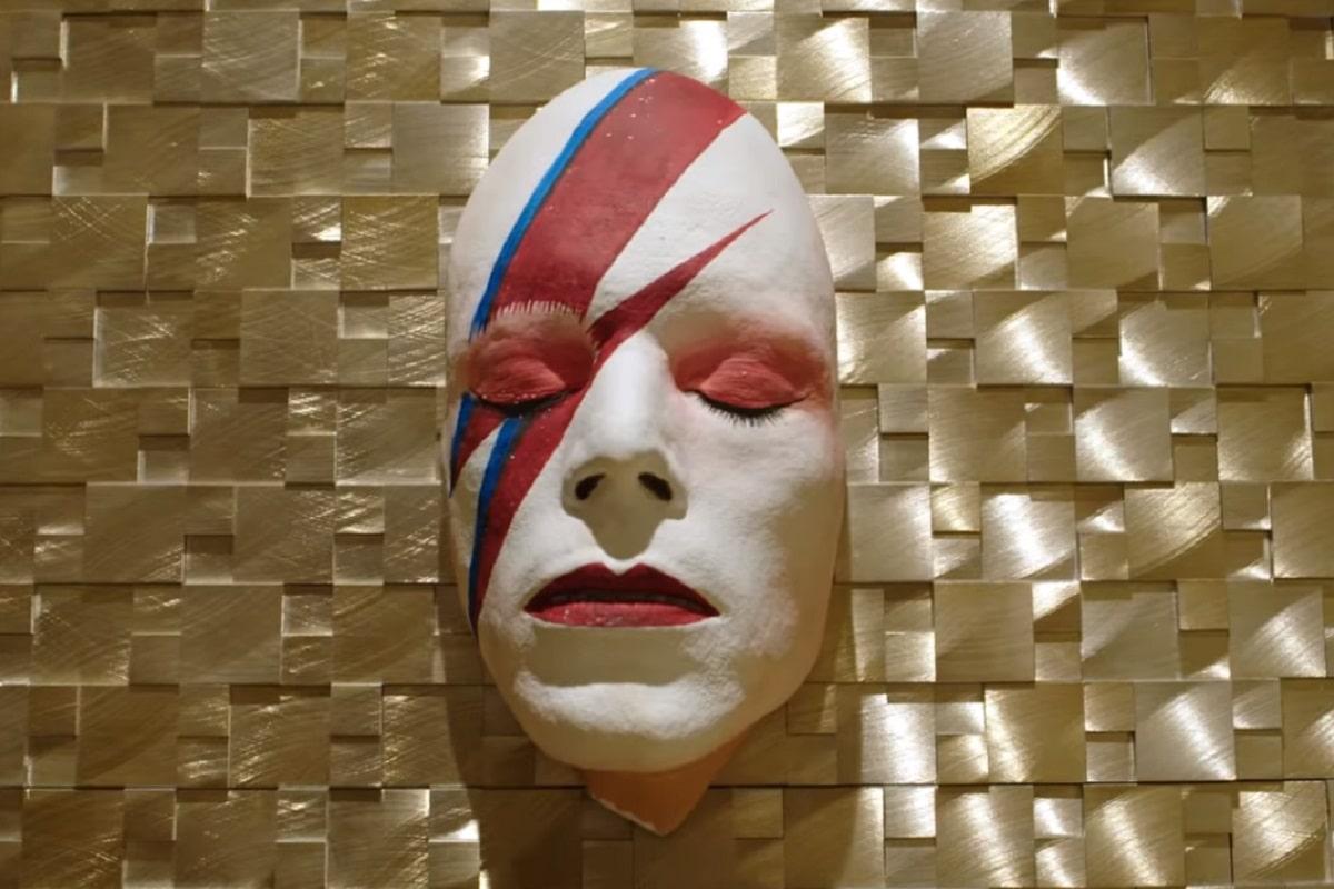 El baño inspirado en David Bowie.