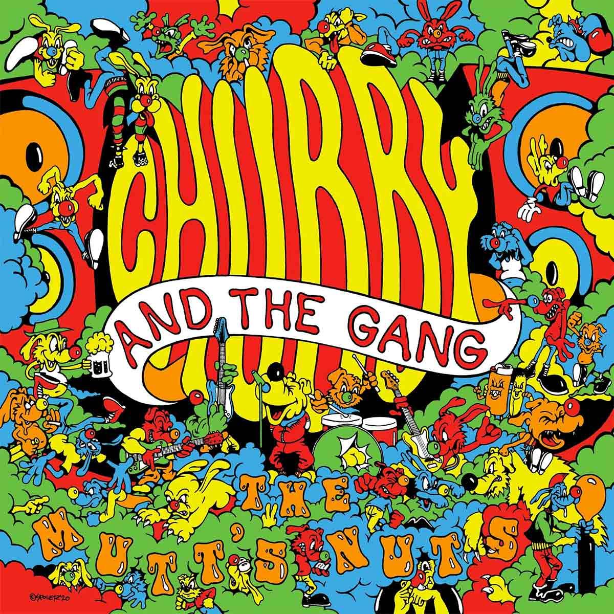 Tapa de The Mutt's Nuts, disco de Chubby and the Gang