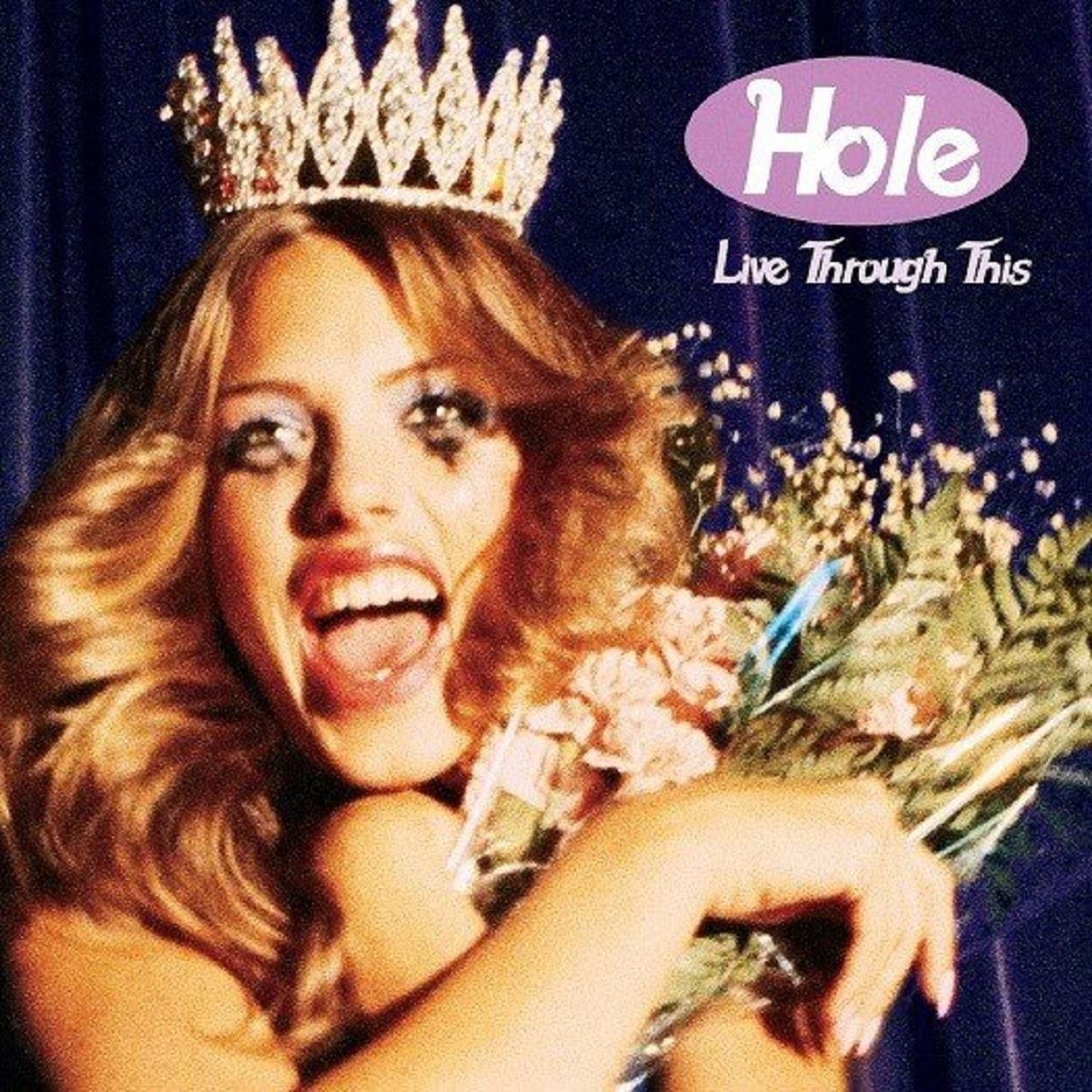 La portada de Live Through This de Hole