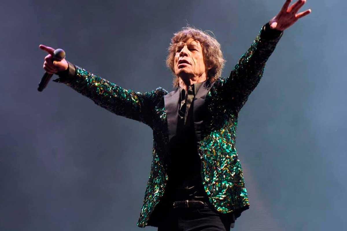 Mick Jagger de The Rolling Stones
