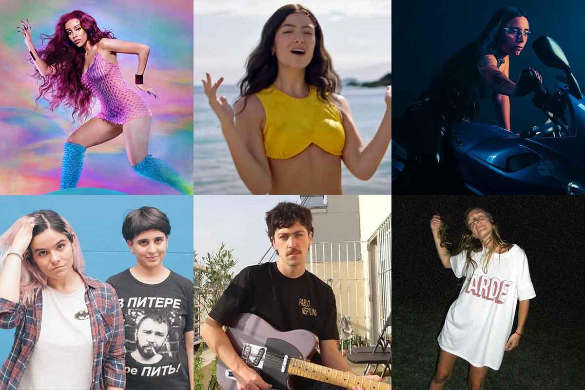 Música nueva: Lorde, Eve Calletti, Doja Cat, Pablo Neptuno y más