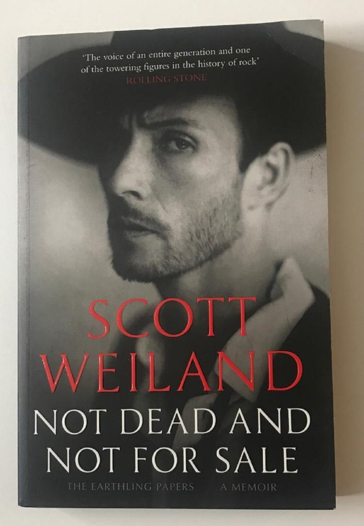 Las memorias de Scott Weiland.