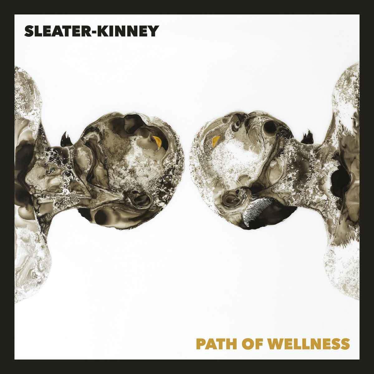 Tapa de Path of Wellness, disco de Sleater-Kinney