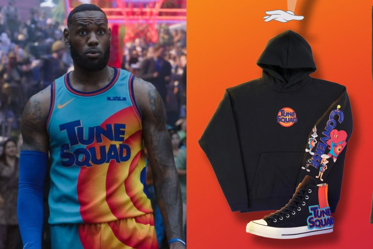 Nike y Converse presentan una colección inspirada en la nueva Space Jam