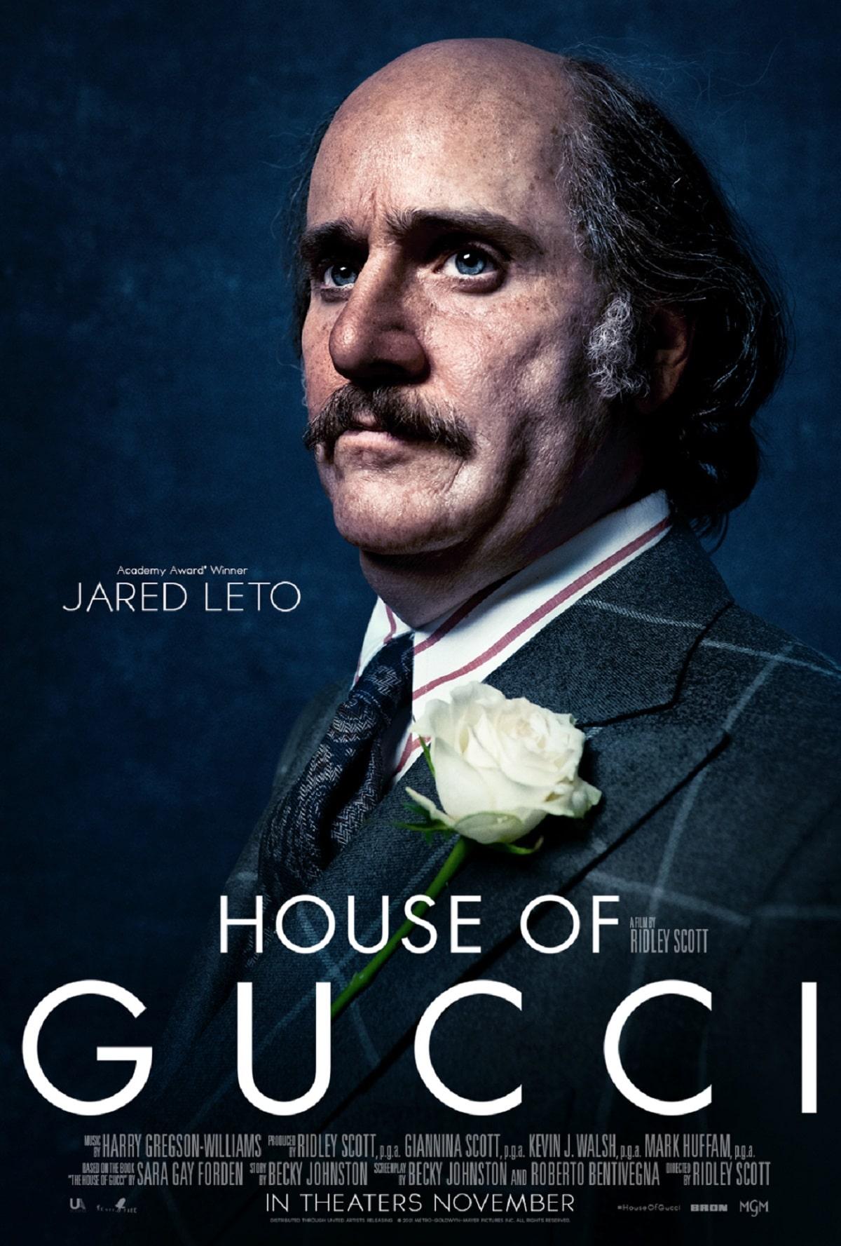 Jared Leto como Paolo Gucci.