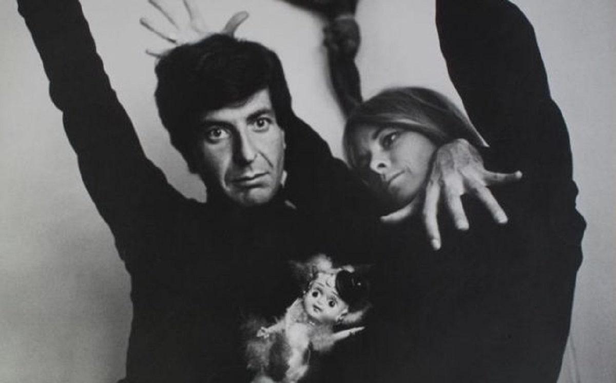 Leonard Cohen y Marianne Ihlen