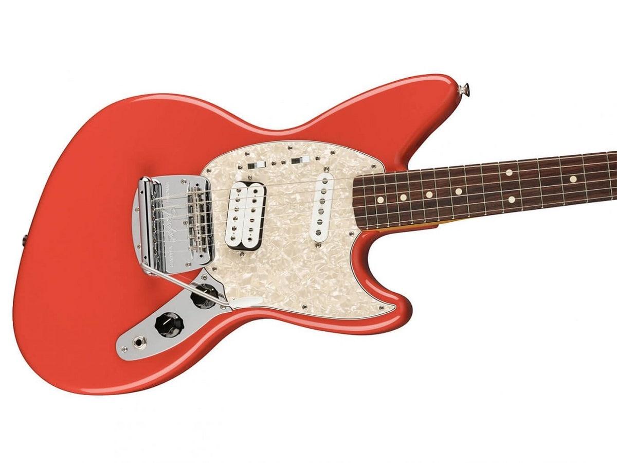La guitarra en honor a Kurt Cobain.