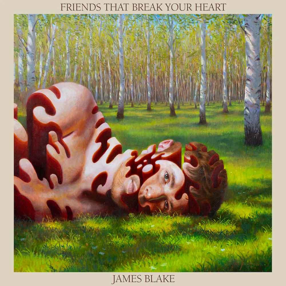 Tapa de Friends That Break Your Heart, disco de James Blake