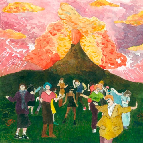 Juana Ruda, Bailando en el volcán