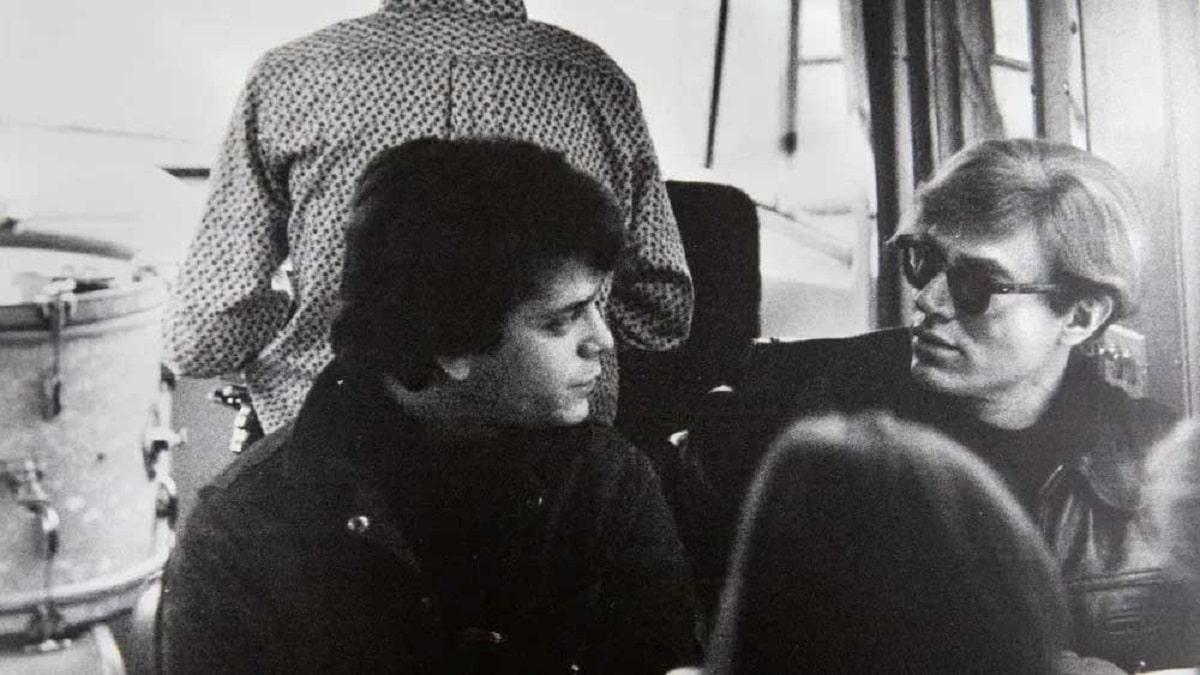 Lou Reed y Andy Warhol