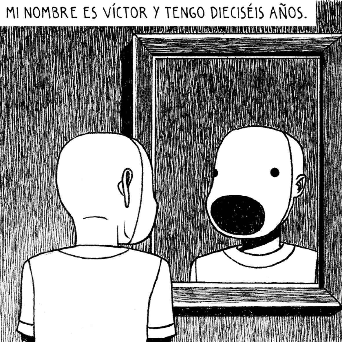 Niño oruga, de Pedro Mancini