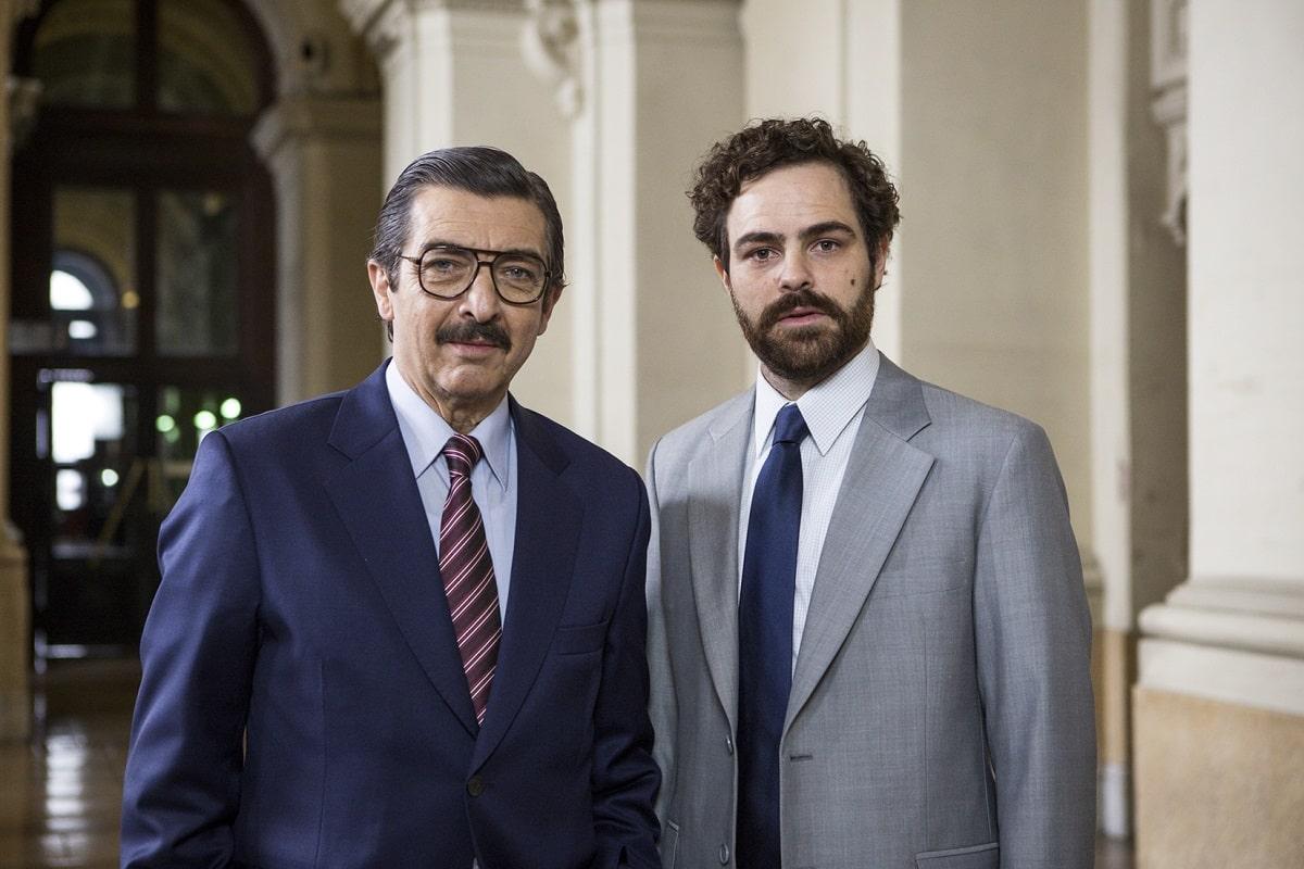 Ricardo Darín y Peter Lanzani.