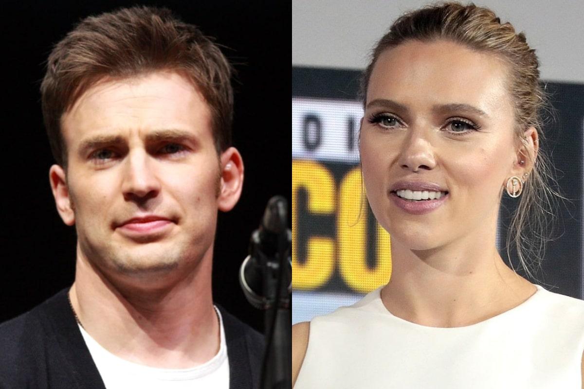 Chris Evans / Scarlett Johansson.