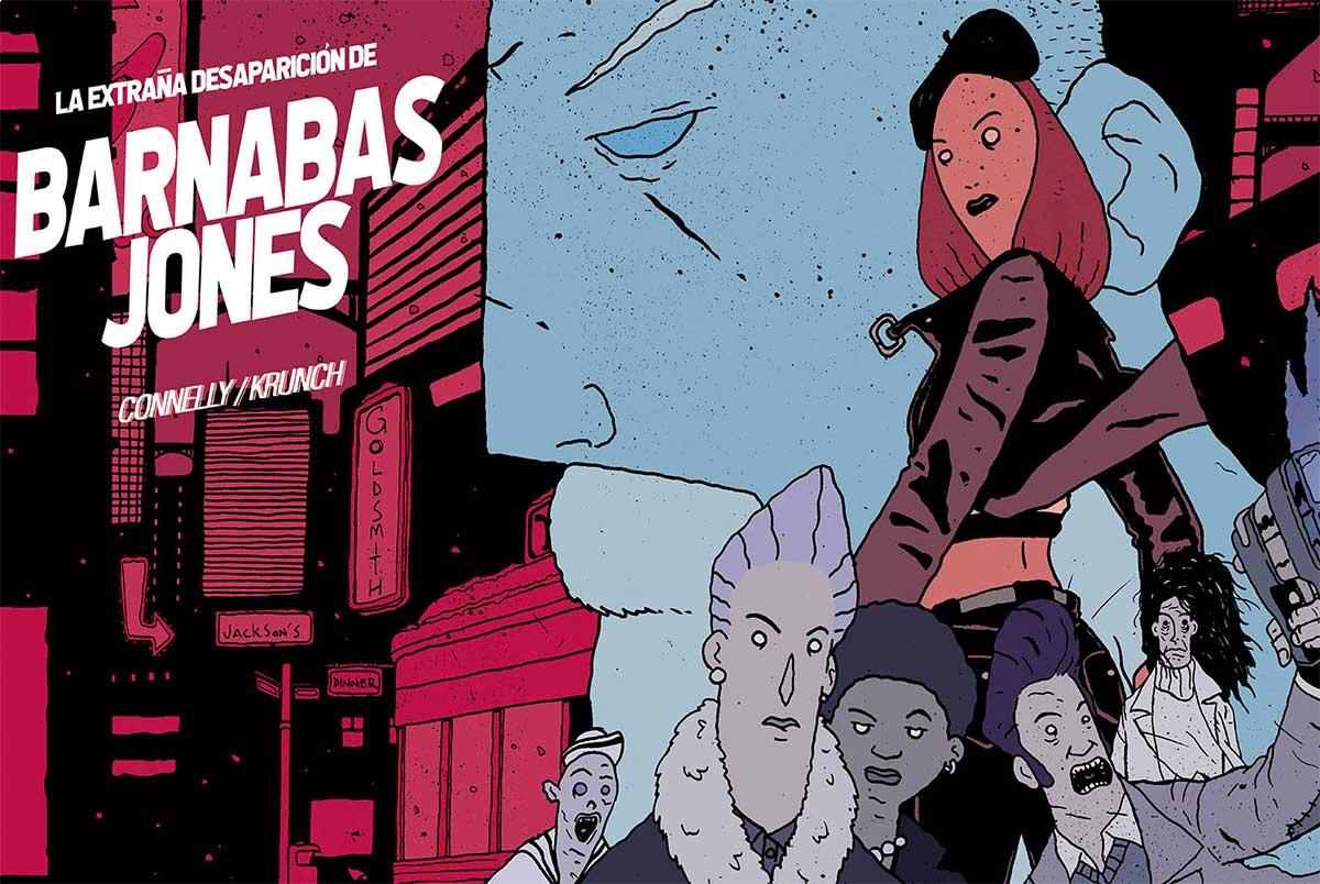 La extraña desaparición de Barnabas Jones, de Damián Connelly y Kundo Krunch