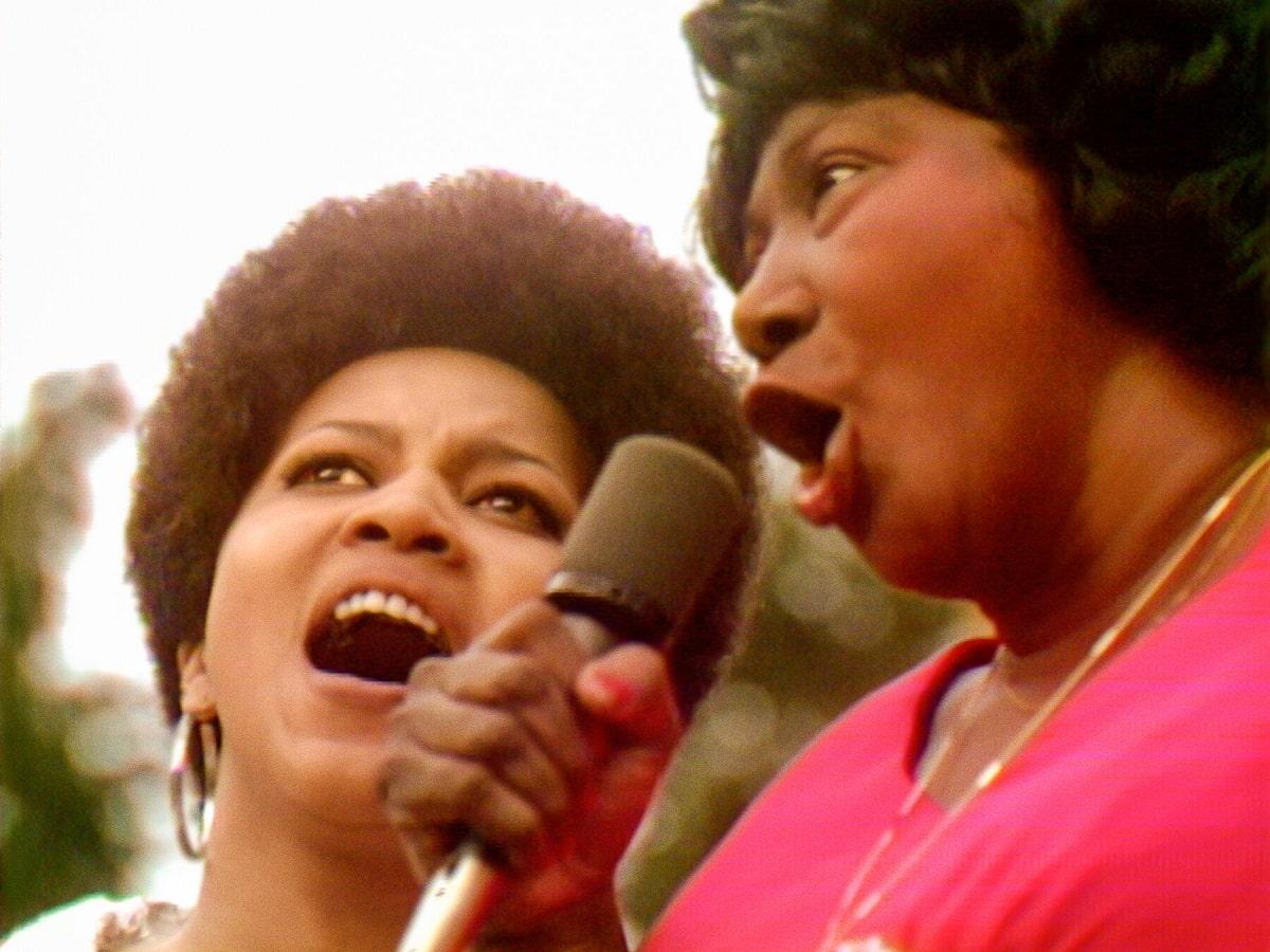 Mavis Staples y Mahalia Jackson