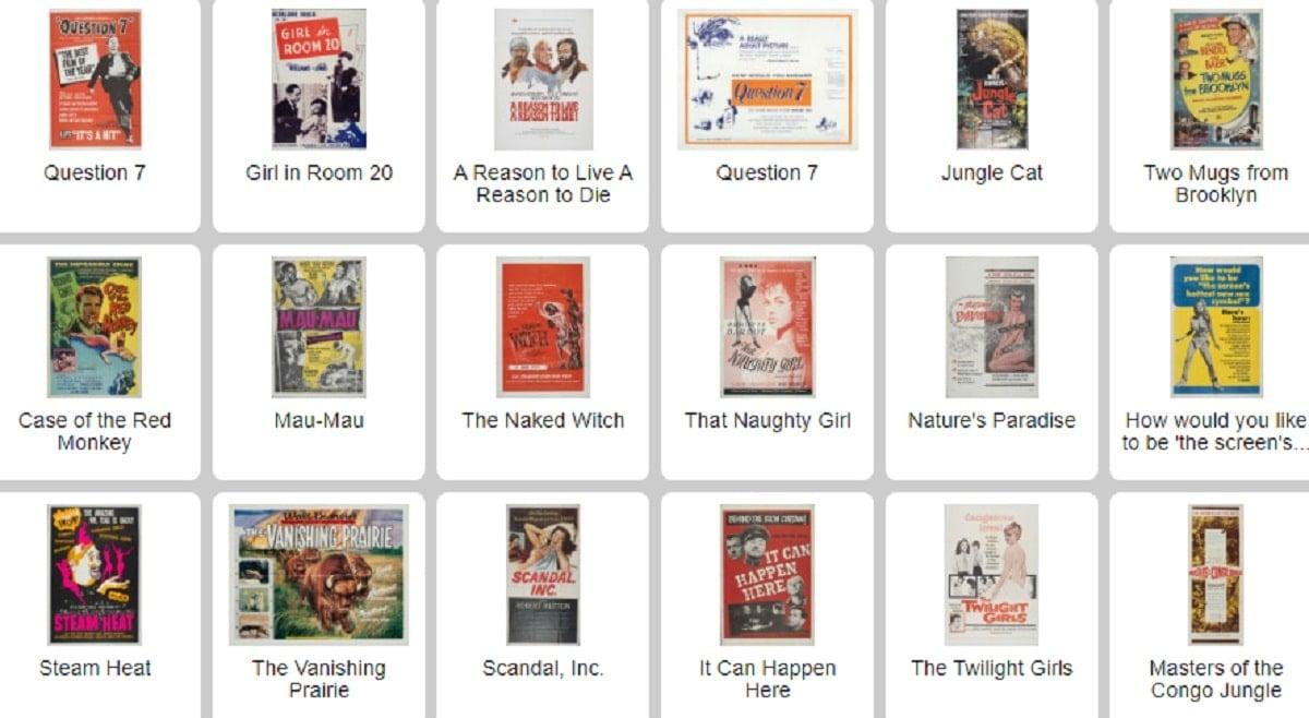 La web que almacena más de 10.000 pósters de películas en alta resolución  para descargar gratis