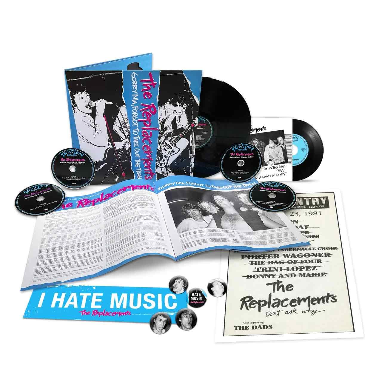 La edición aniversario de Sorry, Ma Forgot To Take Out The Trash, disco de The Replacements