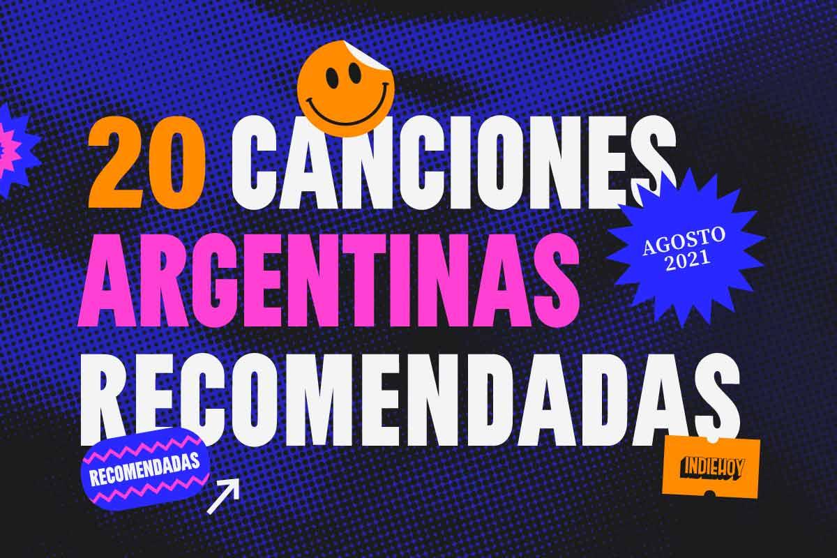 20 canciones argentinas recomendadas