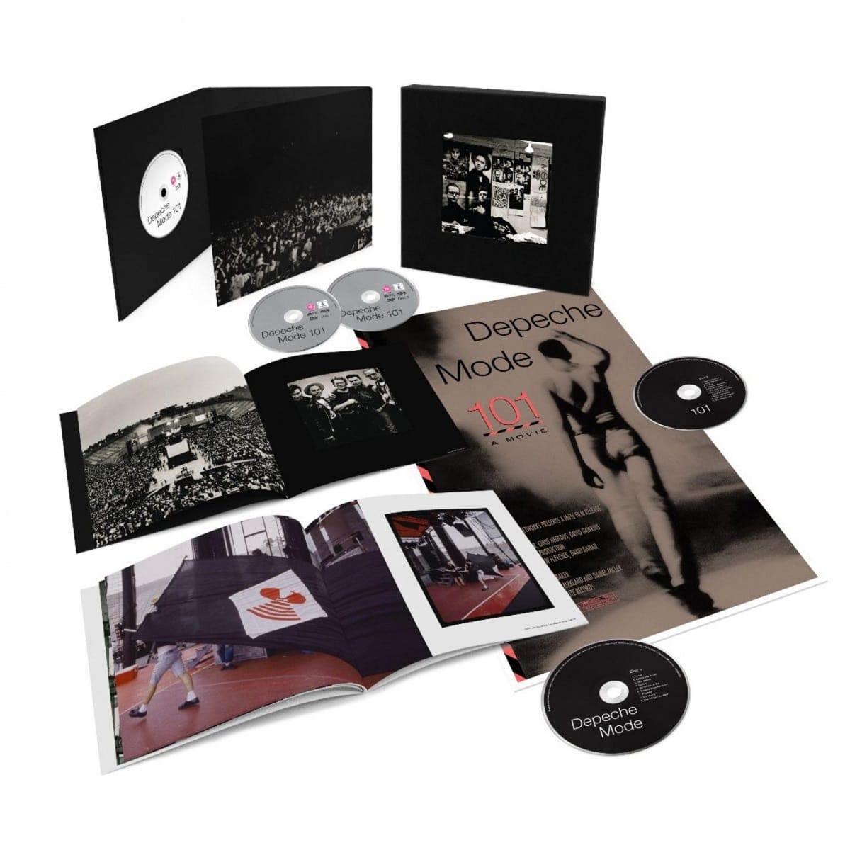 Depeche Mode 101 llegará en un box set muy especial para fanáticos.