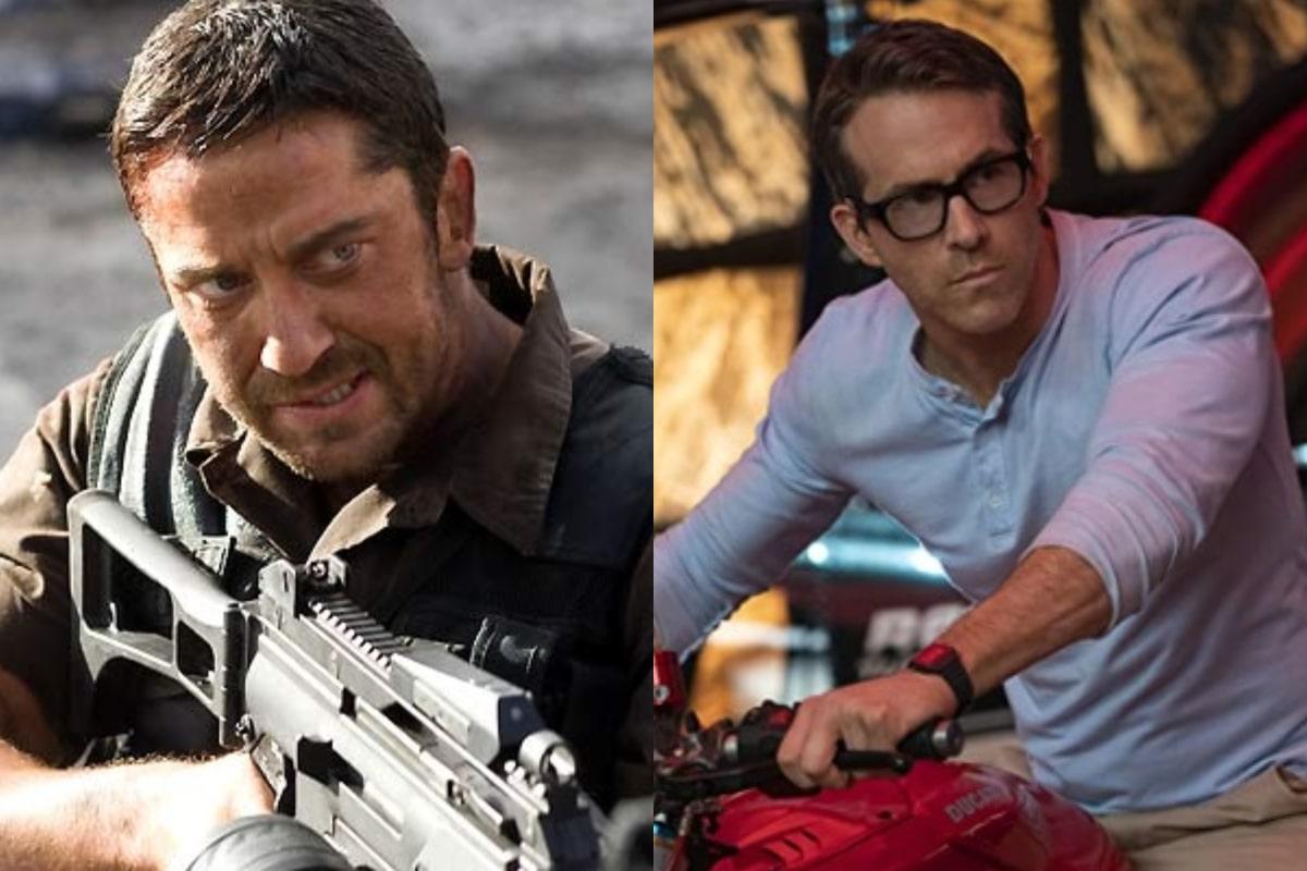 Gerard Butler declaró que no conocía la nueva película de Ryan Reynolds y así respondió el canadiense