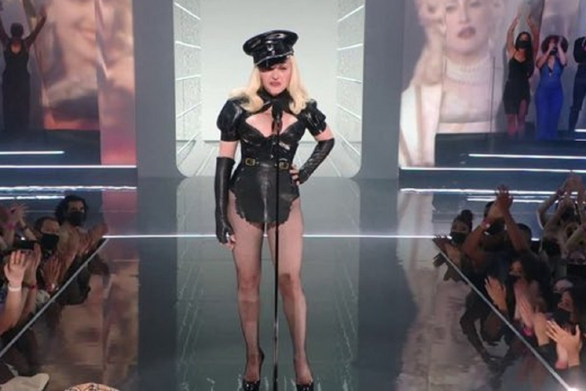 Madonna en los VMA 2021