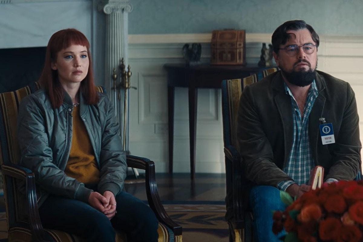 No mires arriba: La película con Leonardo DiCaprio, Timothée Chalamet y Jennifer Lawrence estrena avance