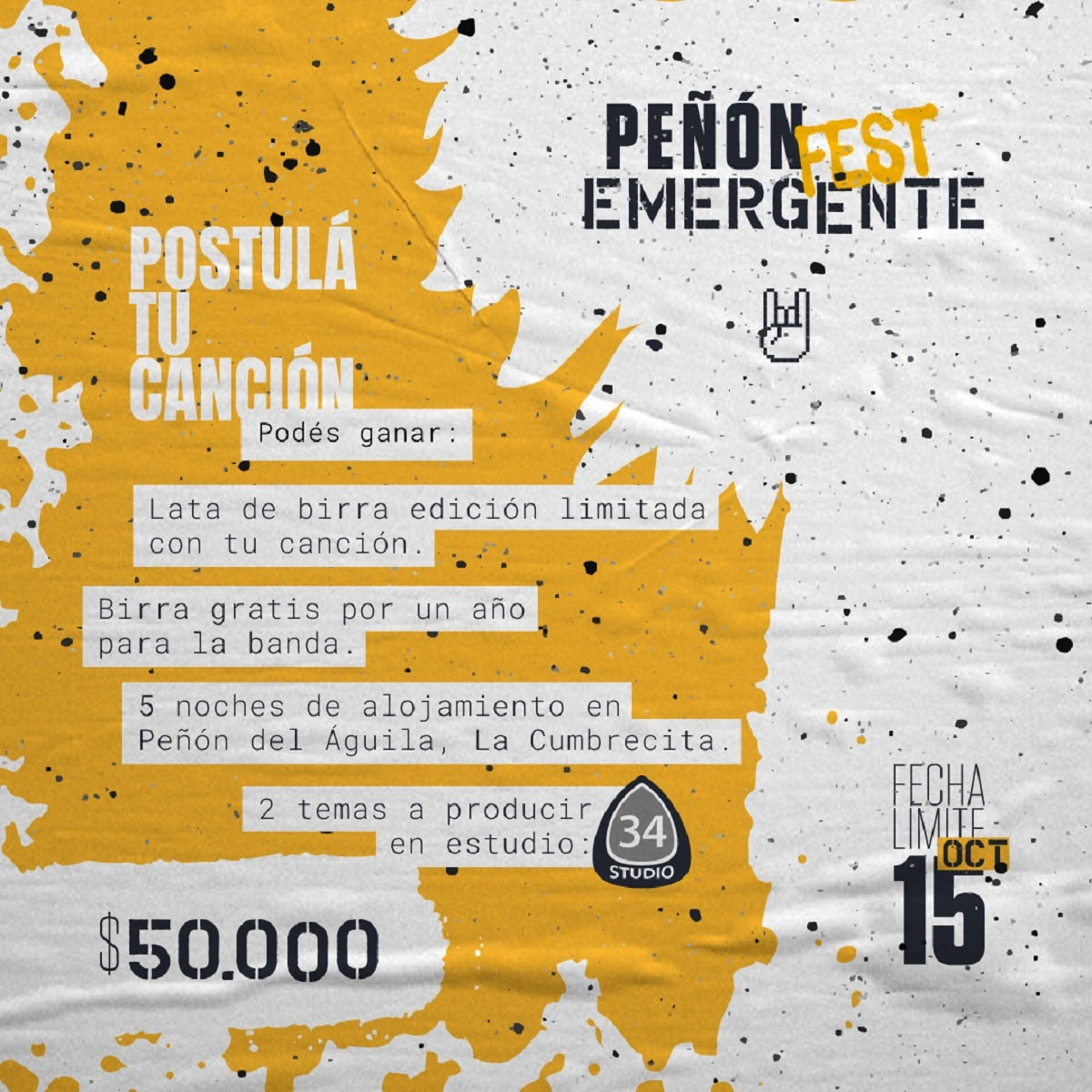 Peñón Fest Emergente.