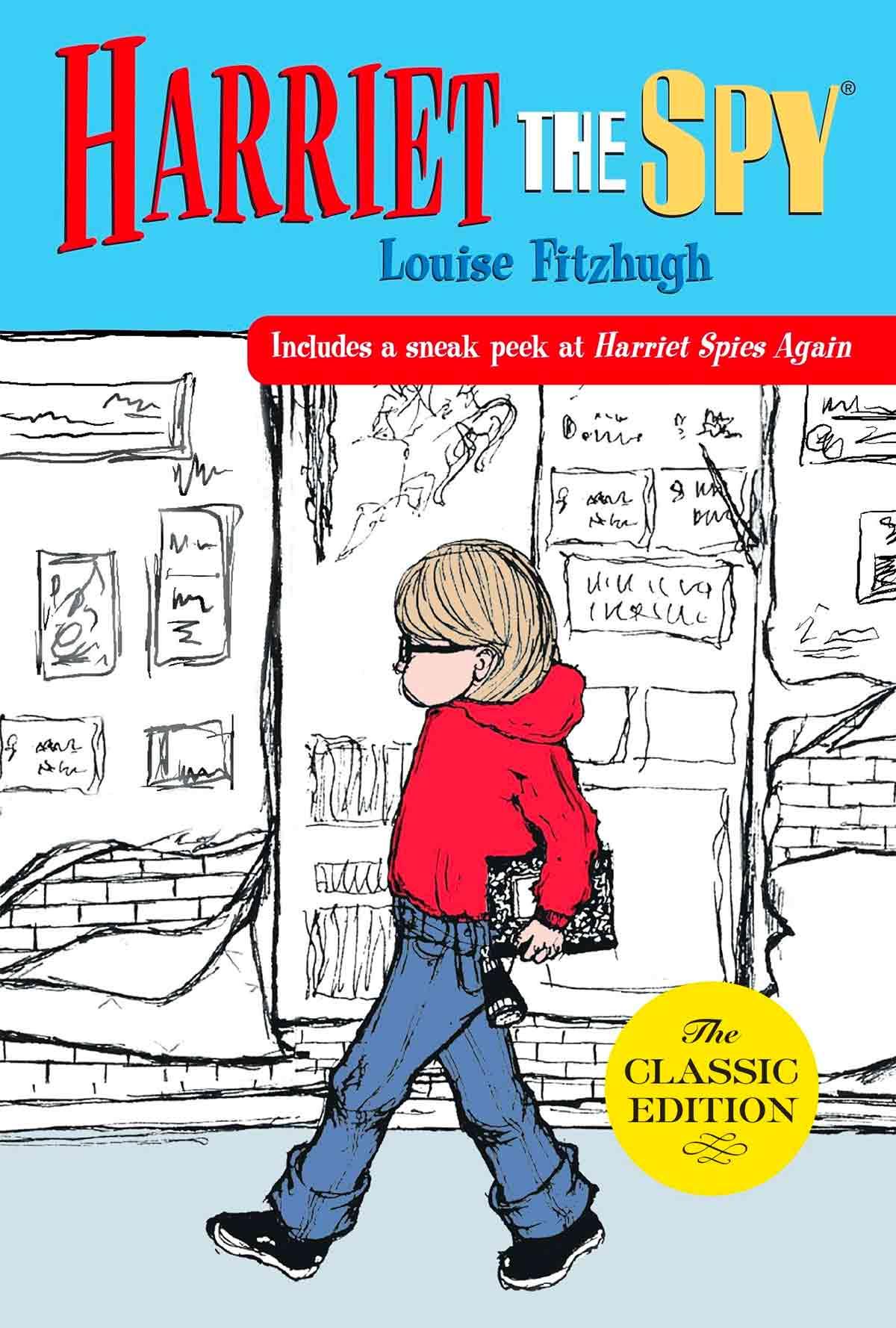 """Tapa de """"Harriet the Spy"""", libro de Louise Fitzhugh"""