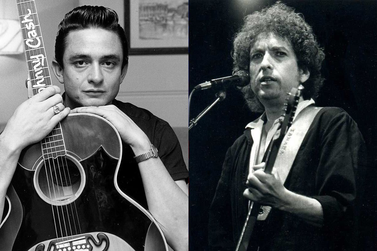 Johnny Cash / Bob Dylan