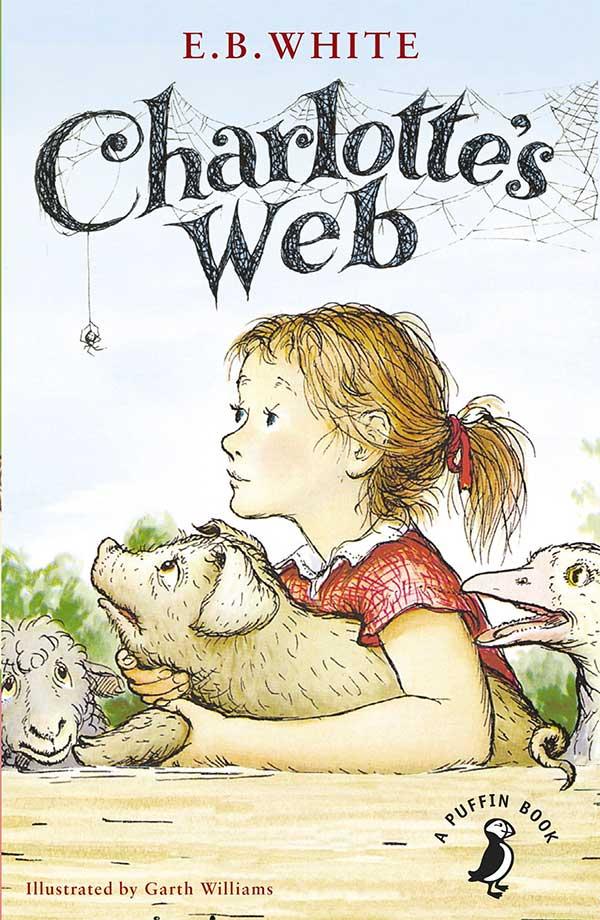 """Tapa de """"La telaraña de Charlotte"""", libro de E.B. White"""