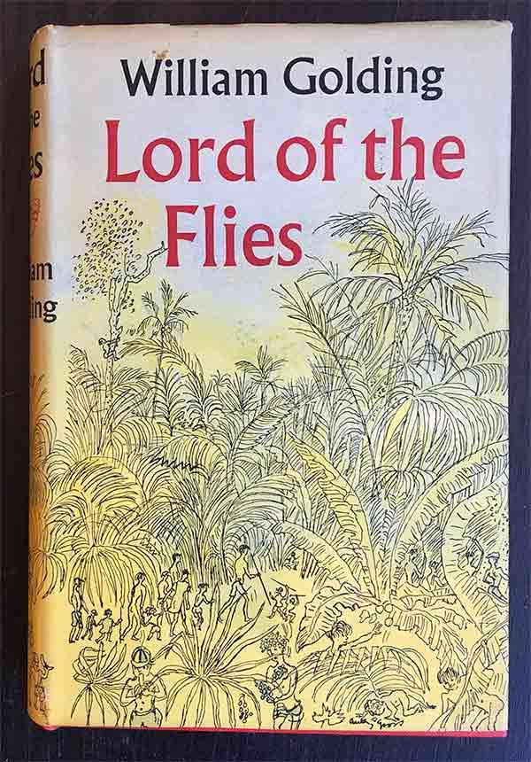 """Tapa de """"El señor de las moscas"""", libro de de William Golding"""