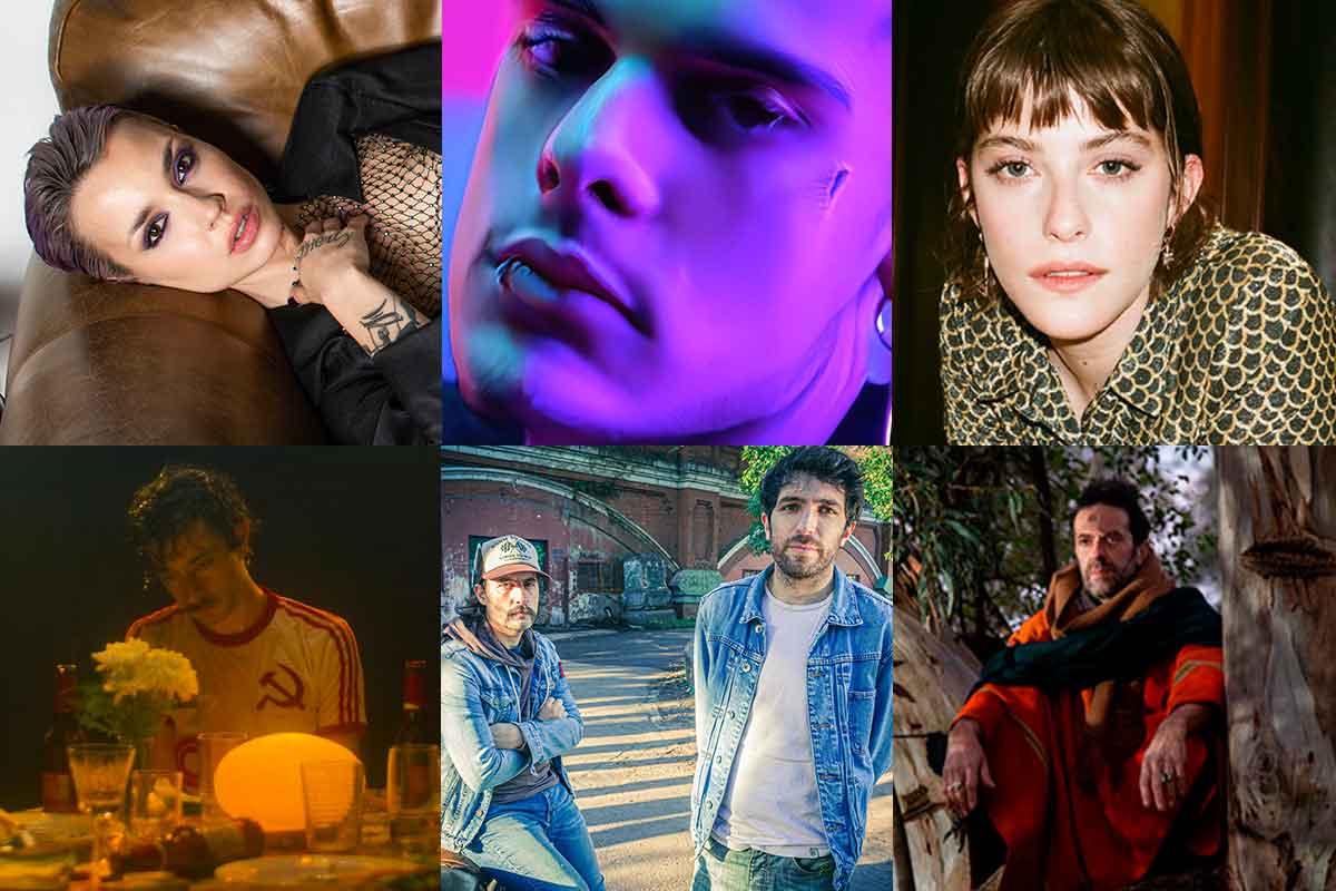 9 lanzamientos argentinos para escuchar esta semana: Ca7riel, Telescopios, Femigangsta y más